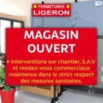 Le magasin reste OUVERT : pendant le confinement